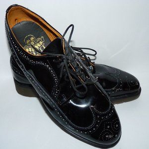 Dr Martens Wingtip Oxford Patent Leather Shoes